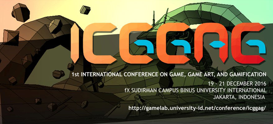[CALL FOR PAPERS]: The 1st International Conference on Game, Game Art and Gamification
