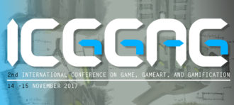 2nd International Conference on Game, Gameart, and Gamification