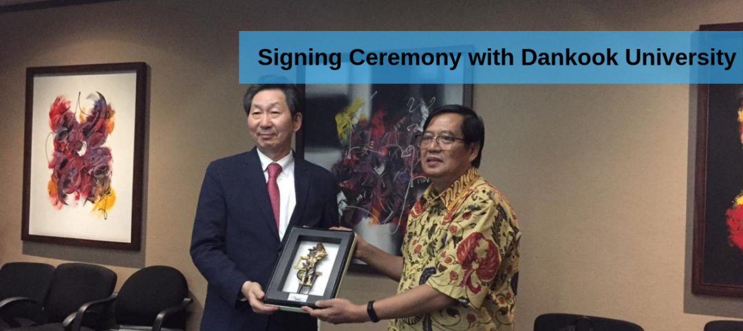 Signing Ceremony with Dankook University